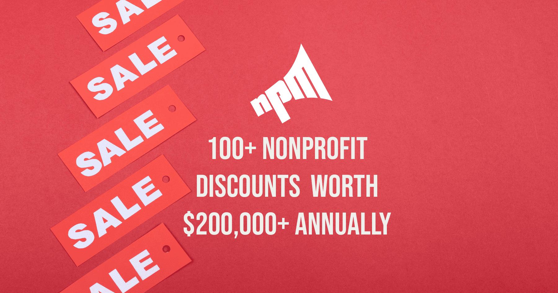 nonprofit software discount